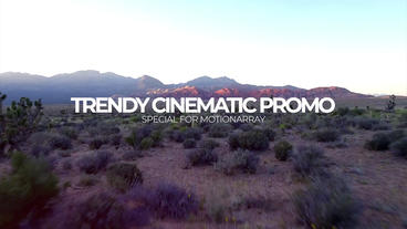 Premier Trendy Cinematic Promo Premiere Pro Template