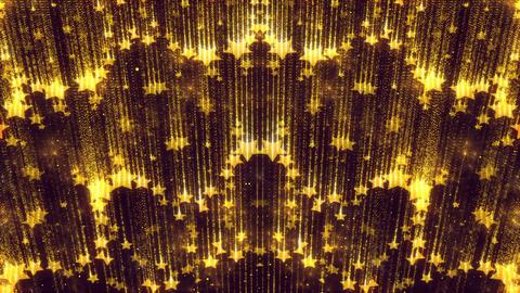 Elegant Shimmer Gold Animated Star Background Glitter Sparkles Animation