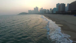 99 Early Spring of Haeundae, Busan, South Korea, Asia 14 Footage