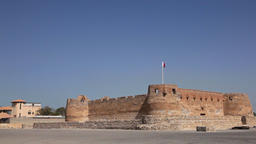 Arad Fort in Muharraq Bahrain Footage