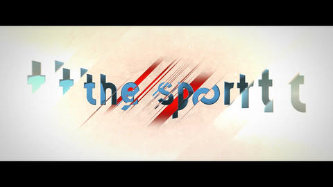 The Sport After Effects Template