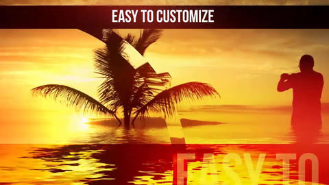 Abstract Slideshow After Effects Template
