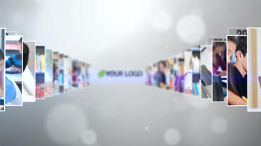Company History Or Timeline stock footage