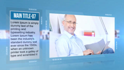 Corporate Displays After Effects Template