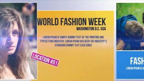 World Fashion Week After Effects Template