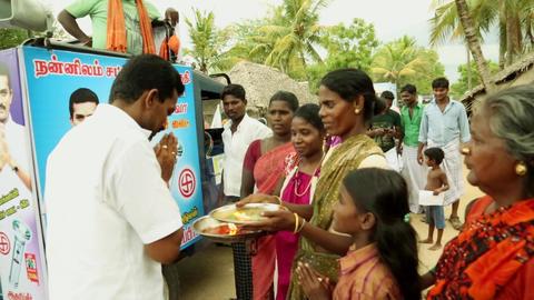 SUYACHI MLA CANDIDATE PIRACHARAM of Nannilam, Tamilnadu, India Footage