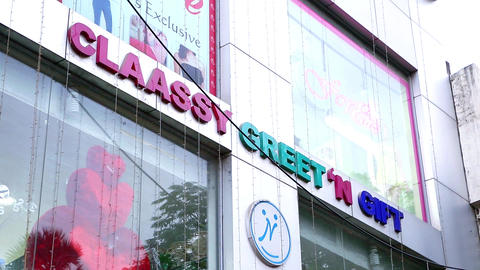 shopping mall exterior, Claassy greet N gift Live Action