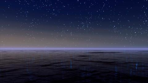 Starry Sky 4K CG動画素材