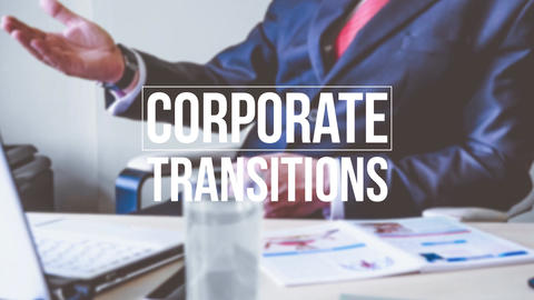 Corporate Transitions Premiere Proテンプレート