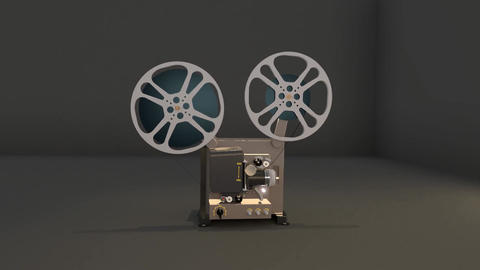 Vintage Projector Animation
