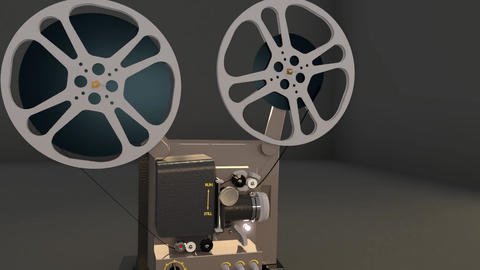 Vintage Projector Stock Video Footage