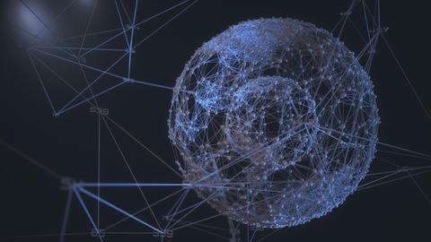 Global business finance application Footage