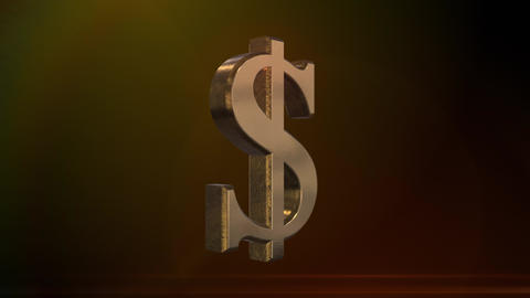 Spinning Dollar Sign Animation