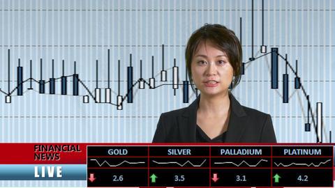 News presenter financial news pip bk Live影片