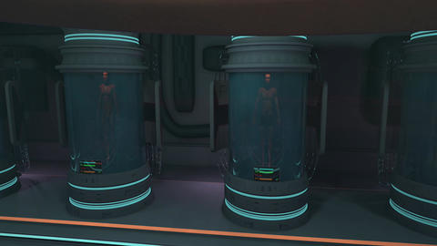 Waking Up in Cloning Capsule POV Cinematic 3D Animation 1 Animation