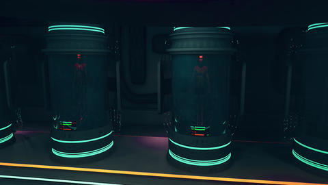 Waking Up in Cloning Capsule POV Cinematic 3D Animation 4 Animation