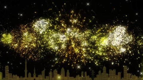 Fireworks loop CG動画