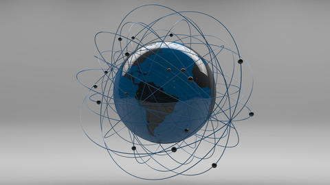 Modern Design Earth Science Network Concept 1 Animation