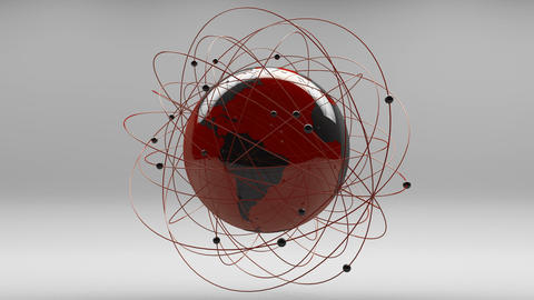 Modern Design Earth Science Network Concept 2 Animation