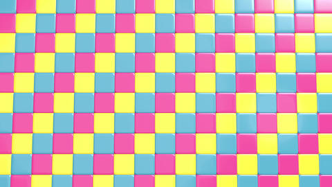 Break cube wall Animación