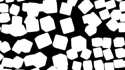 Break cube wall Stock Video Footage