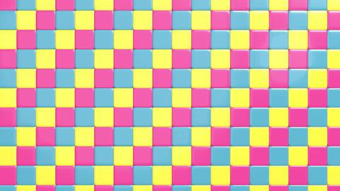 Open cube wall 애니메이션