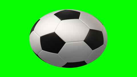 rotating soccer ball Stock Video Footage