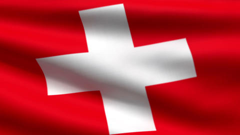 Swiss flag Animation