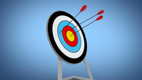 Archery stock footage