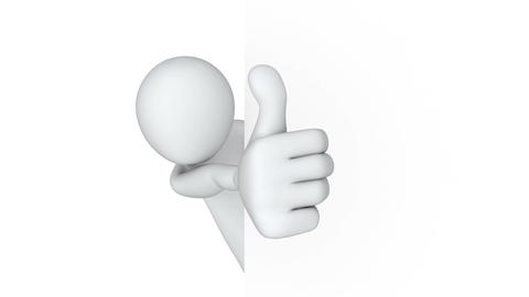 Thumbs Up! Stock Video Footage