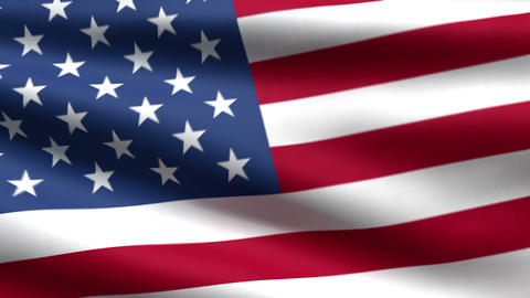 USA flag background Stock Video Footage