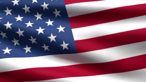 USA flag background Animation