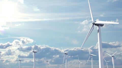 Wind Energy Stock Video Footage
