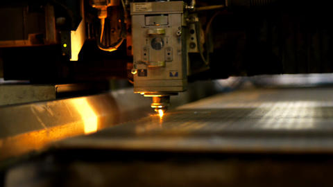 Industrial laser Stock Video Footage