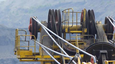 Mining Excavator Footage