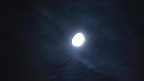 night moon b Stock Video Footage
