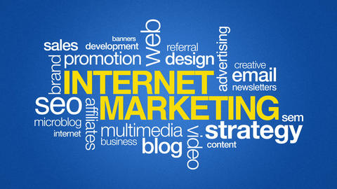 Internet Marketing Stock Video Footage