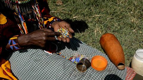Masai Stock Video Footage
