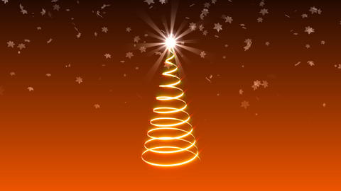 Christmas ribbon Stock Video Footage