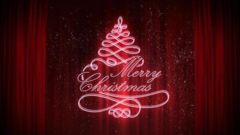Merry Christmas stock footage