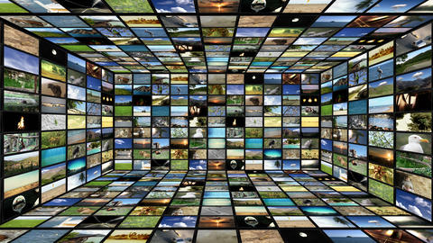 Multimedia TV Wall 04 Animation