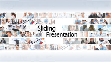 Sliding Presentation - After Effects Template After Effects Project