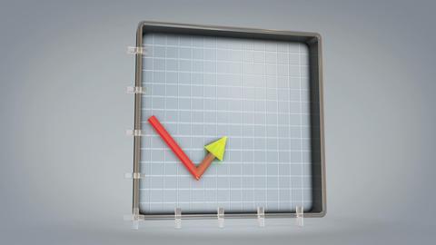 Chart Up Photo JPEG Stock Video Footage