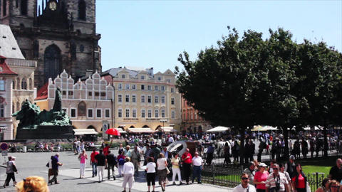 Prague City 10 Stock Video Footage