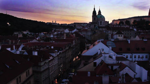 Prague City 2 Stock Video Footage