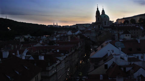 Prague City 3 Stock Video Footage