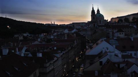 Prague City 3 Stock Video Footage