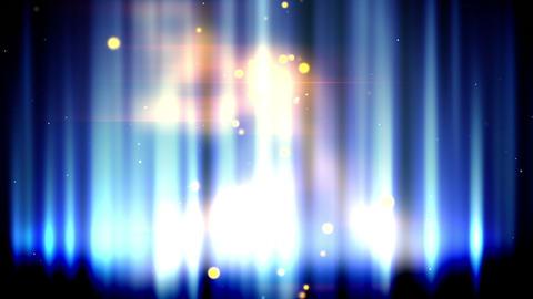 Magic blue fire loop Stock Video Footage