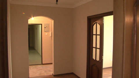 apartment pan 01 Stock Video Footage