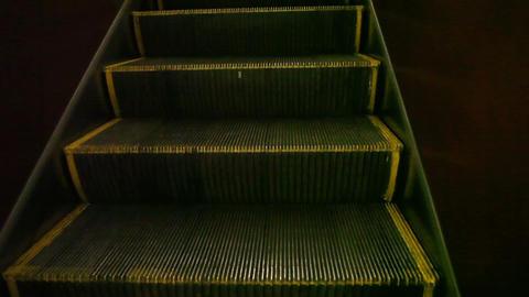 Moving subway elevator Footage